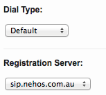 Nehos Customer panel - DID extension setting for FusionPBX